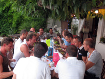 """30th March : 1st dinner """"all together"""" for season 2013"""