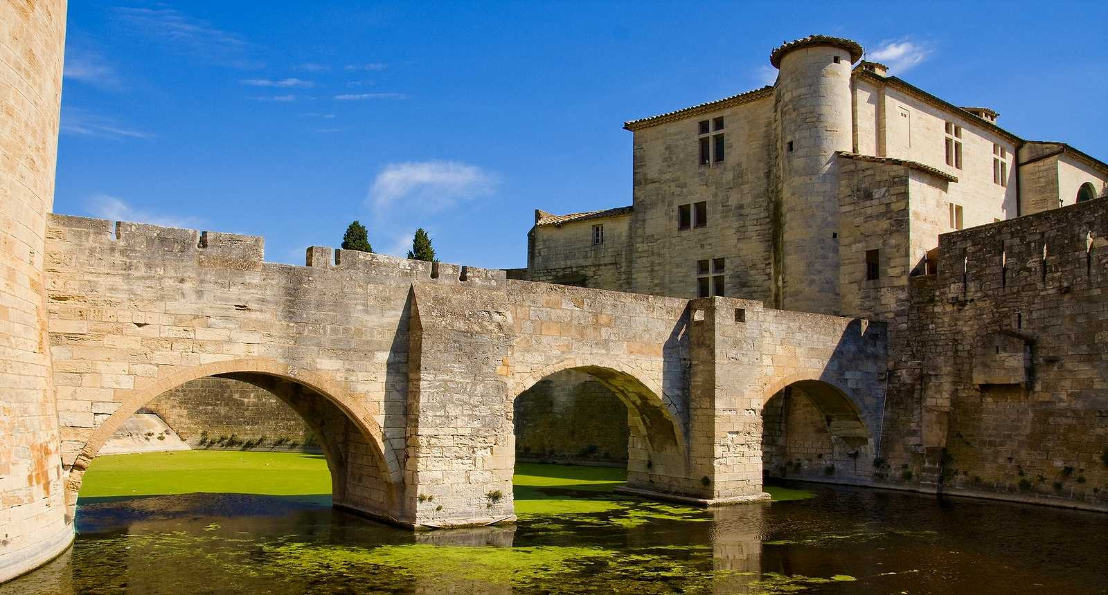 Aigues-Mortes and the salt mountains