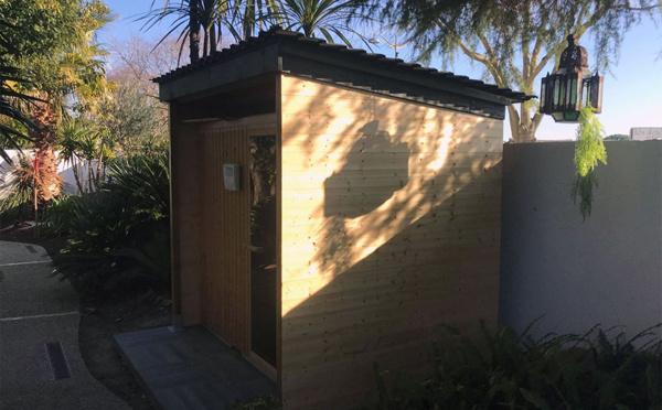 New in 2020: A sauna